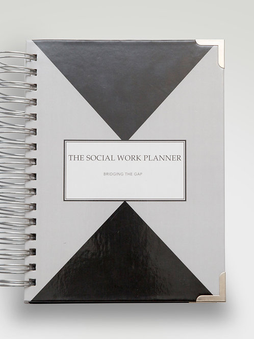2021 | Social work Planner  | Original Cover | 2-Days per page