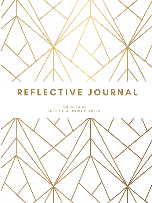 THE REFLECTIVE JOURNAL - GOLD