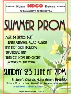 Summer Prom Concert, 2019