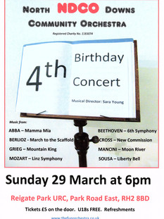 4th Birthday Concert 2020 (cancelled due to COVID-19)