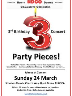 3rd Birthday Concert, 2019