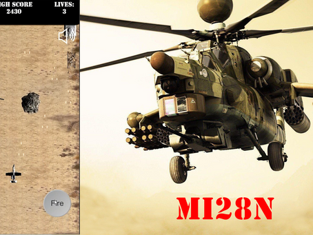 Mi28N Attack Helicopter Joins the Game...!!!