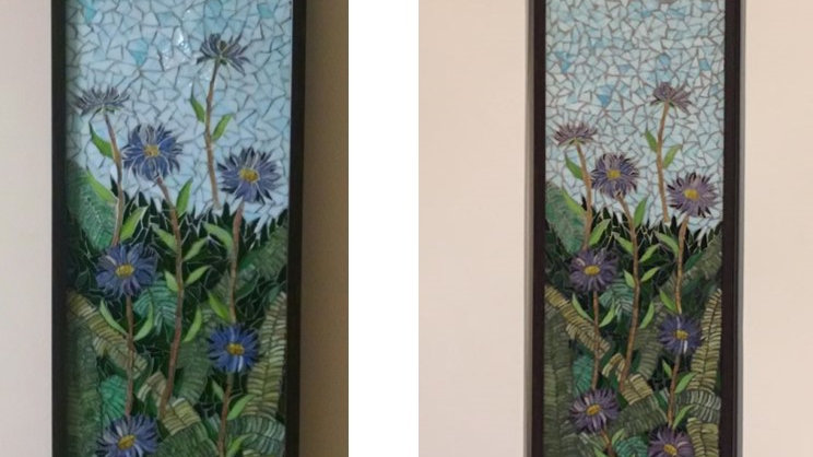 Wild Asters panel