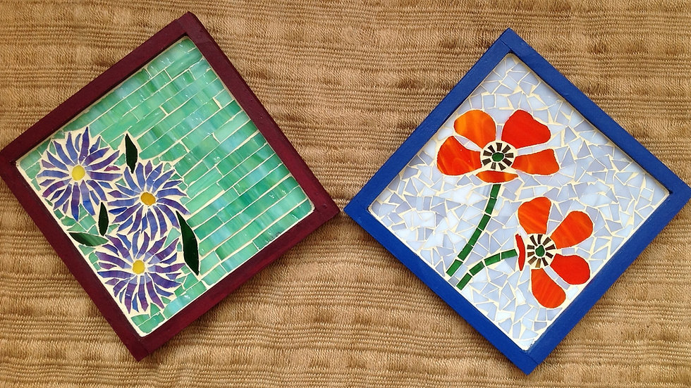 Mosaic trays