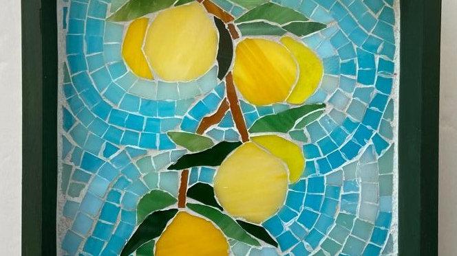 Lemon branch tray