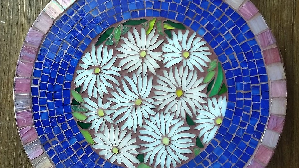 White Asters coffee table