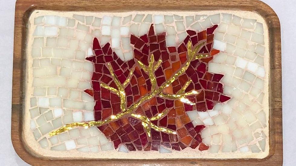 Maple leaf tray
