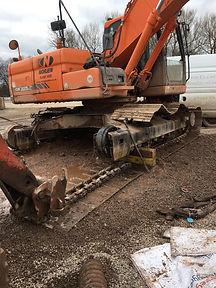excavator repairs