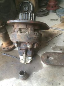 hydraulic motor repai