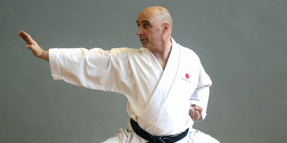Kyu Grading & Masterclass Sensei Garry Harford - 8th Dan