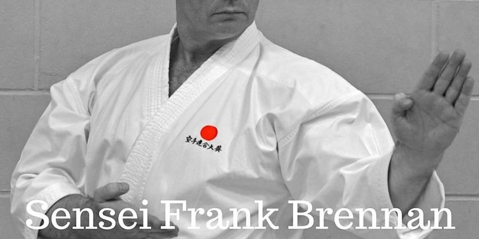 Kyu Grading & Masterclass Sensei Frank Brennan 8th Dan
