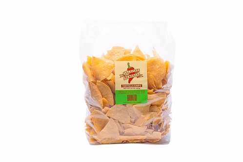 Hand made tortilla chips. 24 ounce bag Local pick up or Delivery only