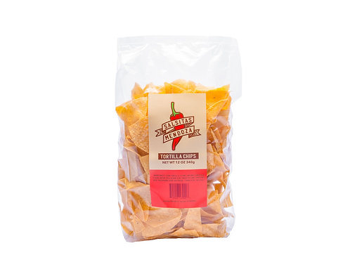 Hand made Tortilla chips.12 ounce bag. Local pick up or delivery only