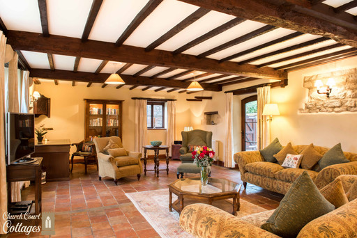 Church Court Cottages Cleeve Sitting Room