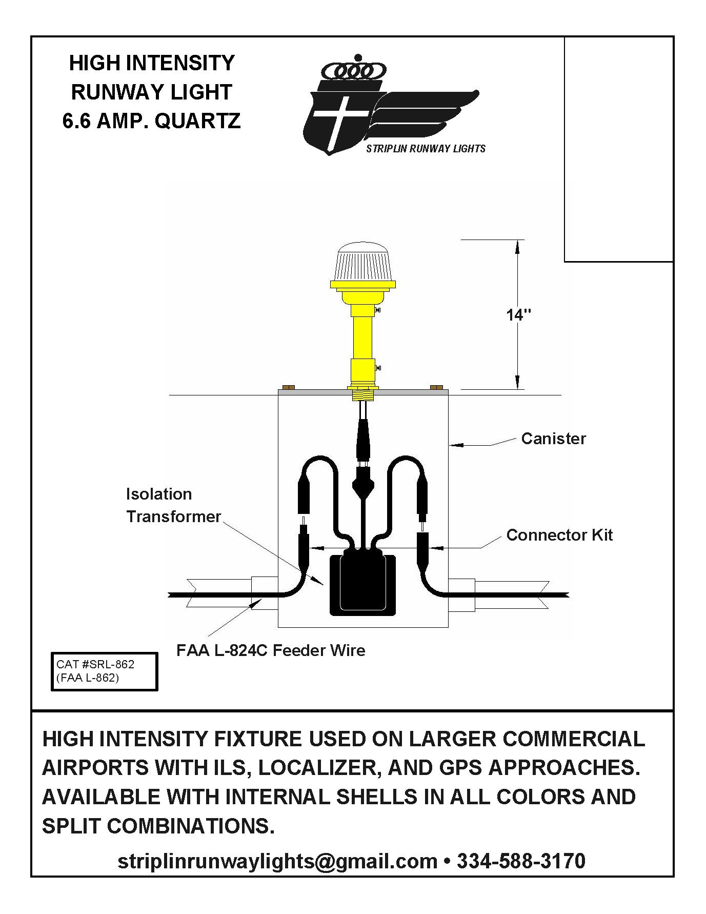 Striplin Runway Lights Highintensityrunwaylight: Airport Lighting Wiring Diagram At Aslink.org