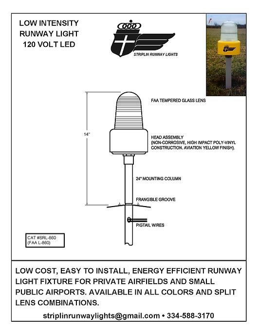 Low Intensity Runway Light