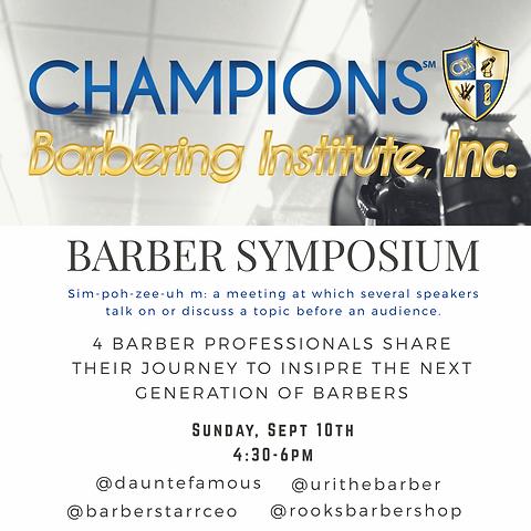 Barber Symposium