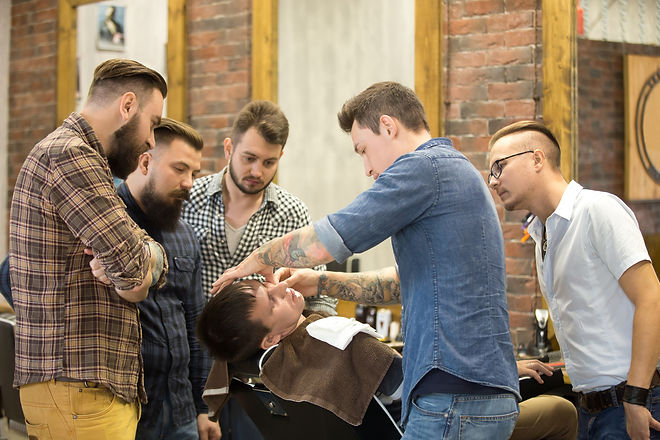 Profesional Barber Teaching