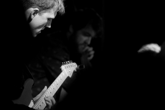 Billy and Huw V Wiliiams with Billy Marrows Band at Process #1, SET Dalston 3.jpg.jpg