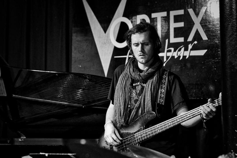 Joe Downard with Billy Marrows Quartet at the Vortex.jpeg