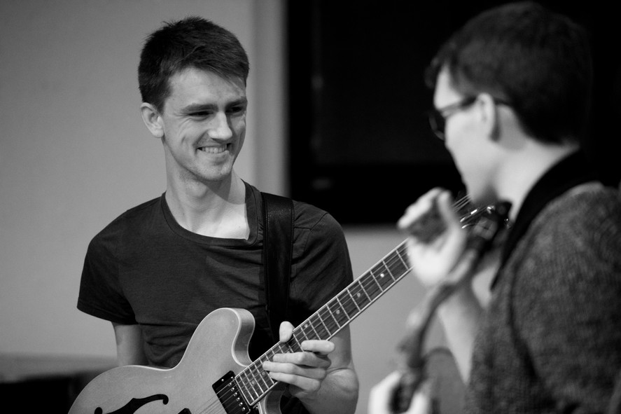 Tom Barford and Billy Marrows with Billy Marrows Octet at Jazz Nursery 1.jpg