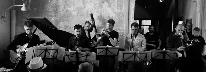 Billy Marrows Octet at Lancaster Jazz Festival 2016 for Lancaster Youth Jazz Commissio