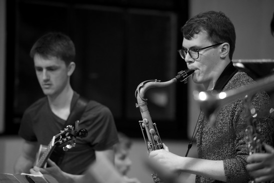 Tom Barford and Billy Marrows with Billy Marrows Octet at Jazz Nursery 4.jpg