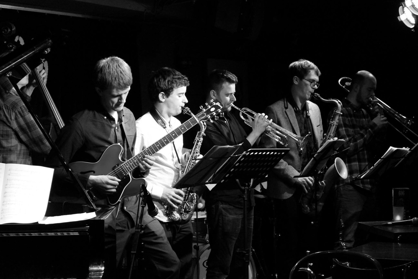 Billy Marrows Octet at the 606 Jazz Club 2