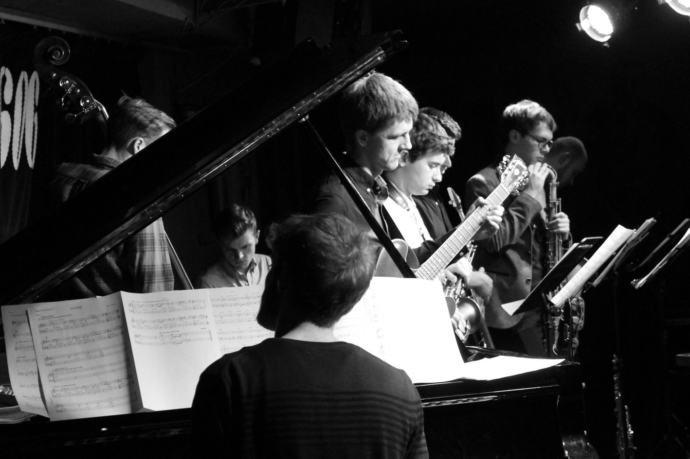 Billy Marrows Octet at the 606 Jazz Club 1