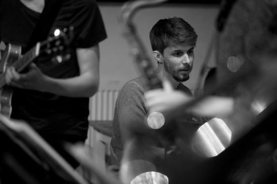 Will Barry with Billy Marrows Octet at Jazz Nursery 2.jpg