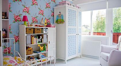 子供の寝室