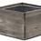 """Thumbnail: Wood Square Planter Box 6"""" x 6"""" x 4"""""""