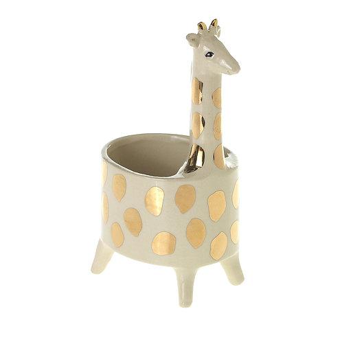 "Giraffe Planter 4"" x 6.75"""