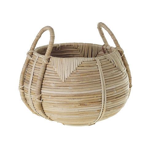 "Cane Basket 12"" x 8.75"""