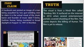 Fake News #F170 -  Actual visual of Gulshan Kumar's assassination