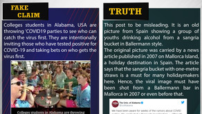 Fake News#F138 - Covid parties happening in USA