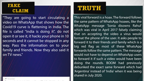 Fake News #F183 - 'India Is Doing It' whats app message