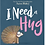 Thumbnail: I Need a Hug (Ages 3 -5) Hardcover
