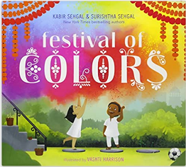 Festival of Colors (Ages 3 -5) Hardcover