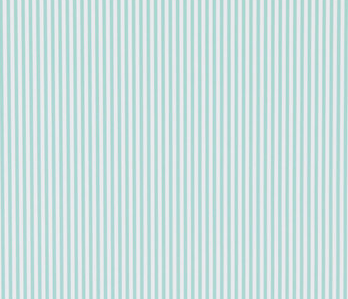 Baby Blue & White Stripes
