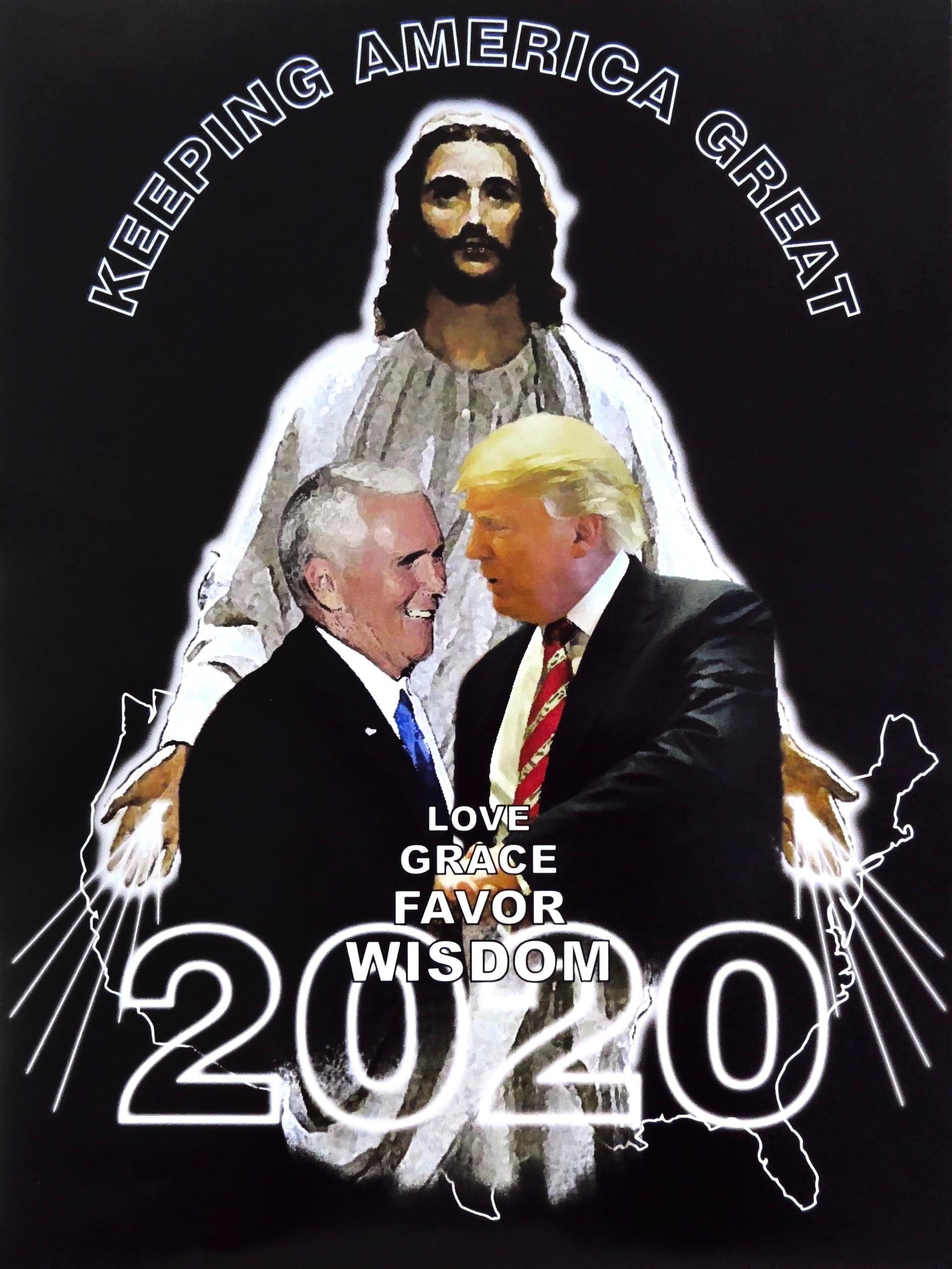 Jesus for Trump (Keeping America Great)