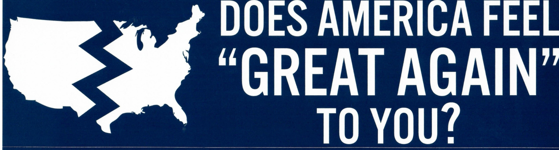 Does America Feel Great to You?