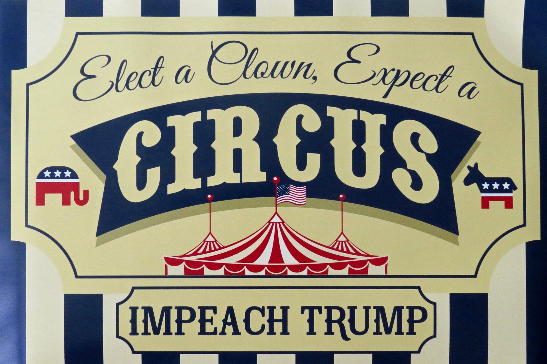 Elect a Clown Expect a Circus