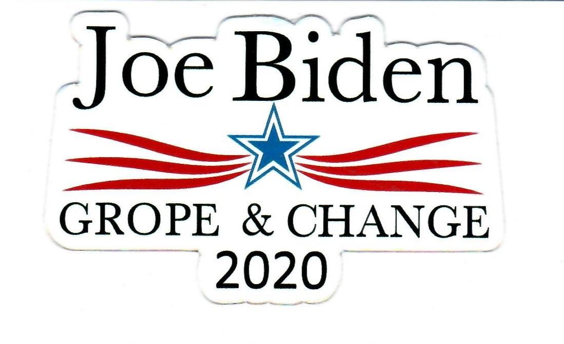 Biden Grabbing Statue of Liberty (Biden 2020)