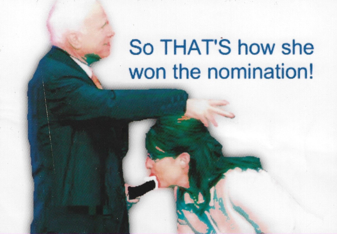So THAT'S How She Won the Nomination! (McCain & Palin)