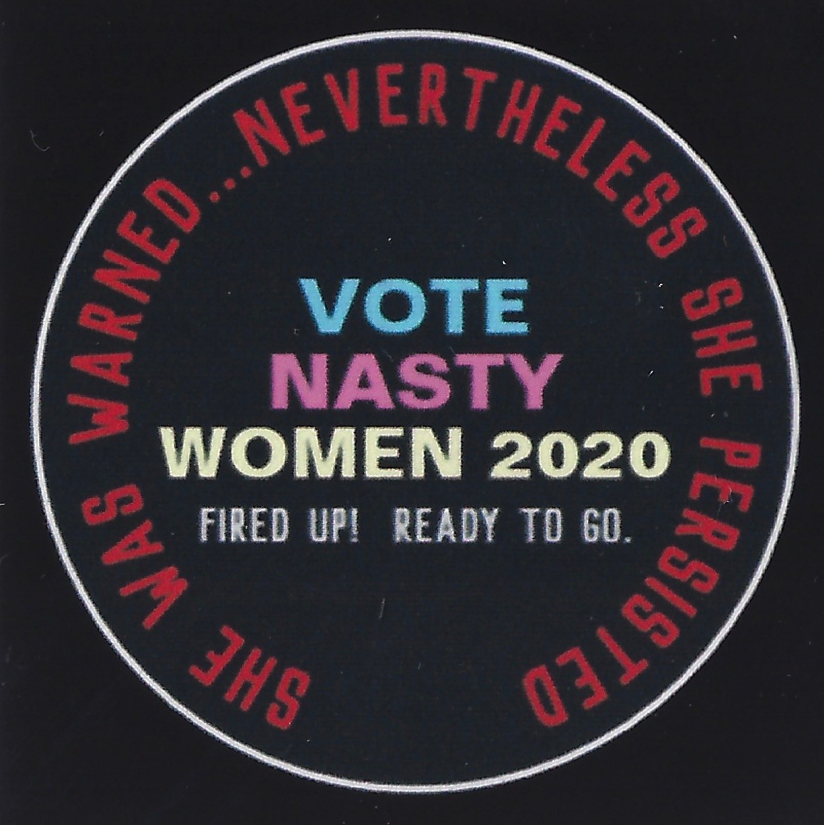 Vote Nasty Women 2020