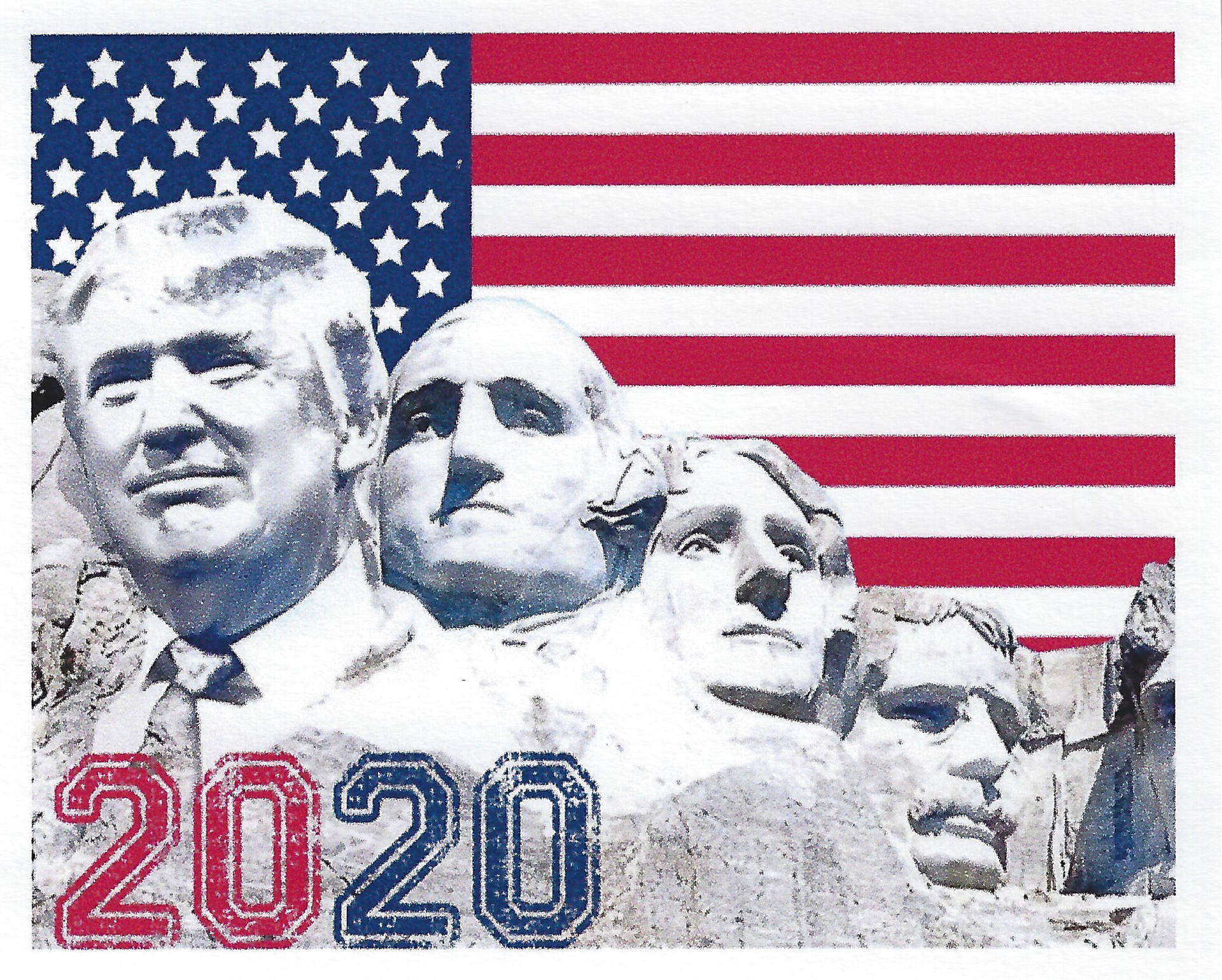Mount Rushmore Trump
