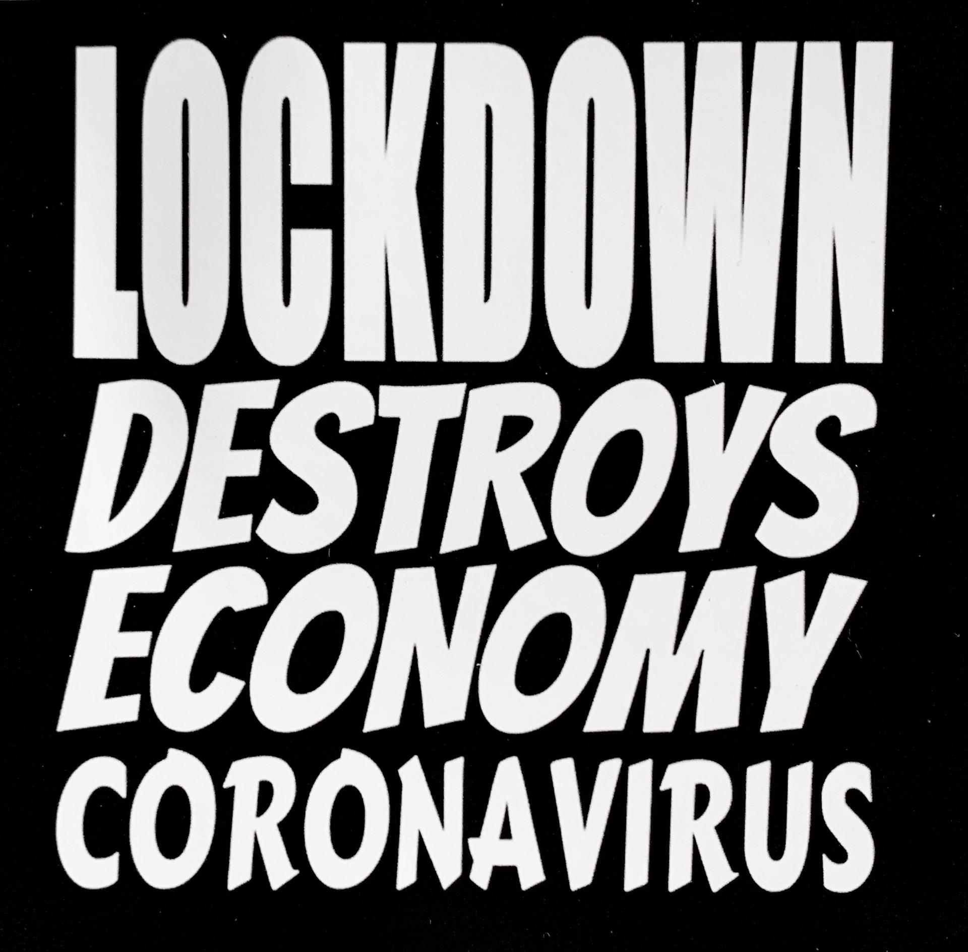 Lockdown Destroys Economy Coronavirus