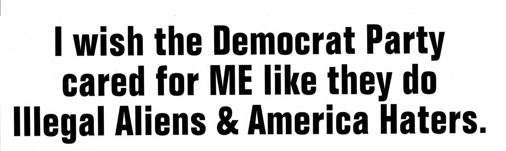 I Wish the Democratic Party