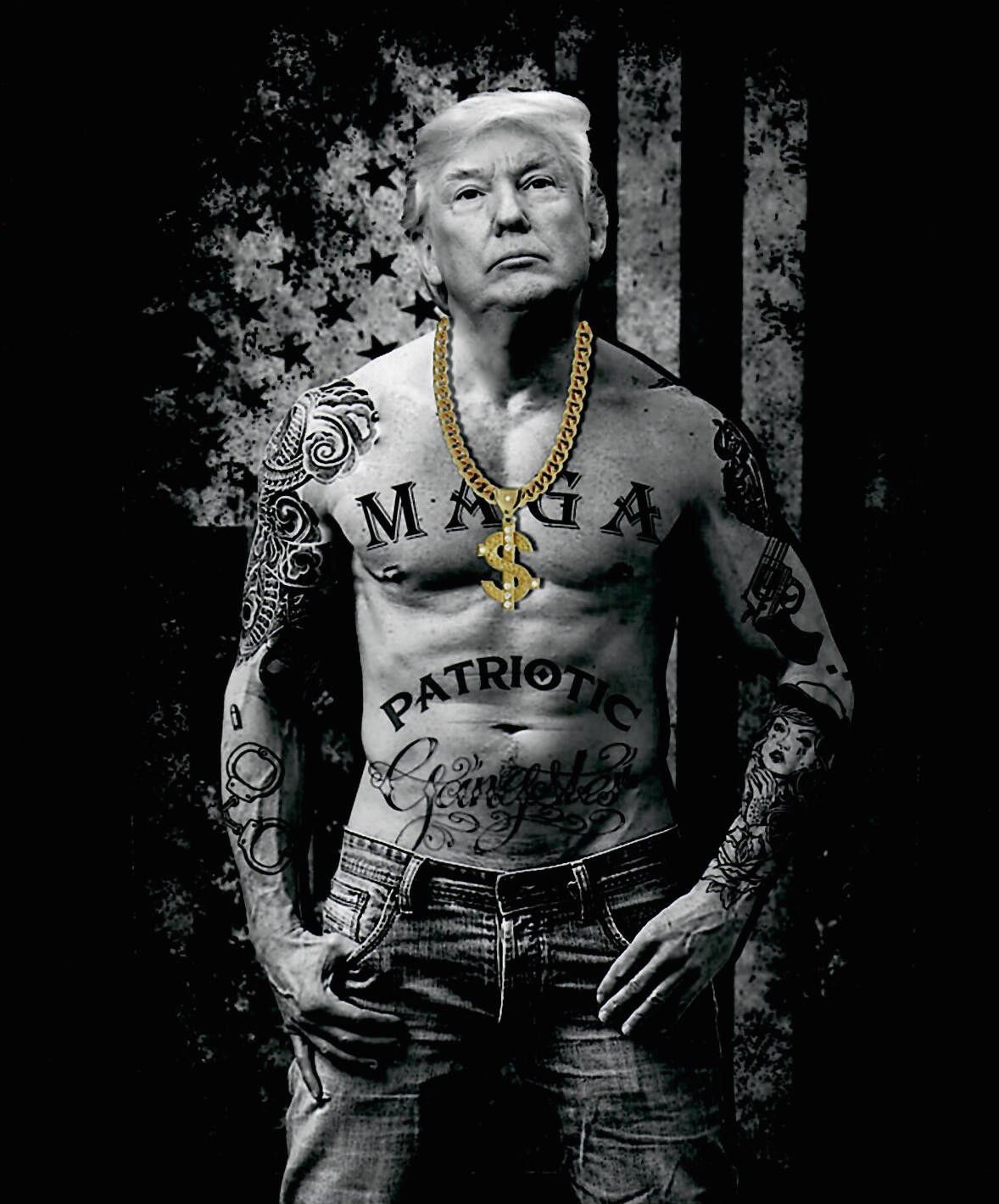 Trump as Gangster